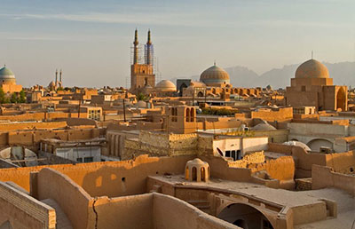 new Yazd and tourism industry