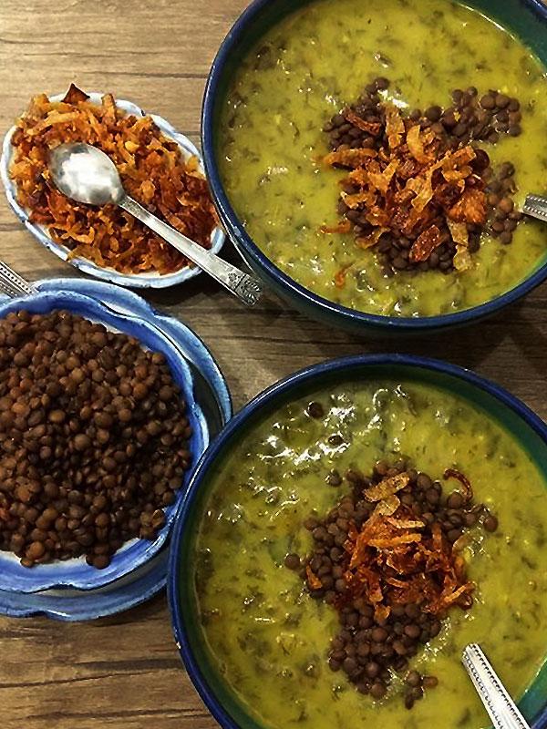 اش شولی غذای یزدی سنتی