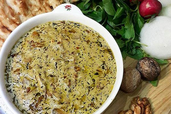کل جوش یزد غذای سنتی