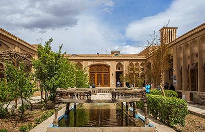معماری و اجزای خانه های یزد