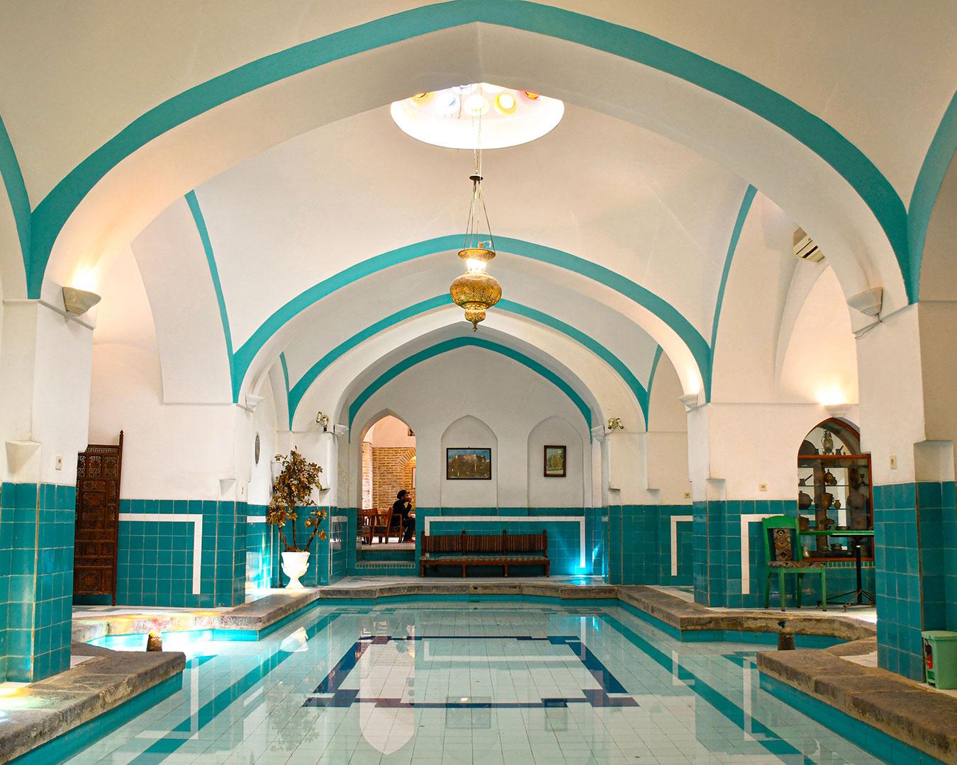 رستوران حمام خان یزد